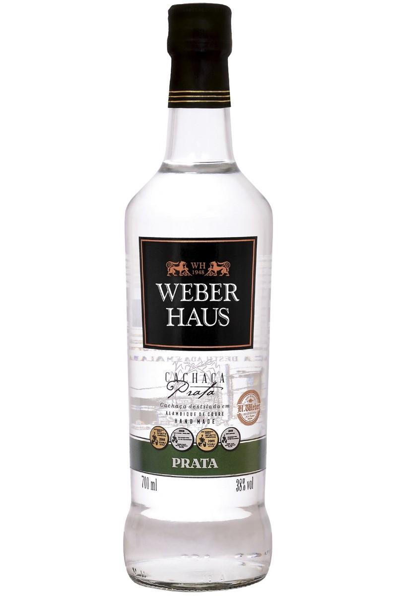 Cachaça Weber Haus Prata 700ml