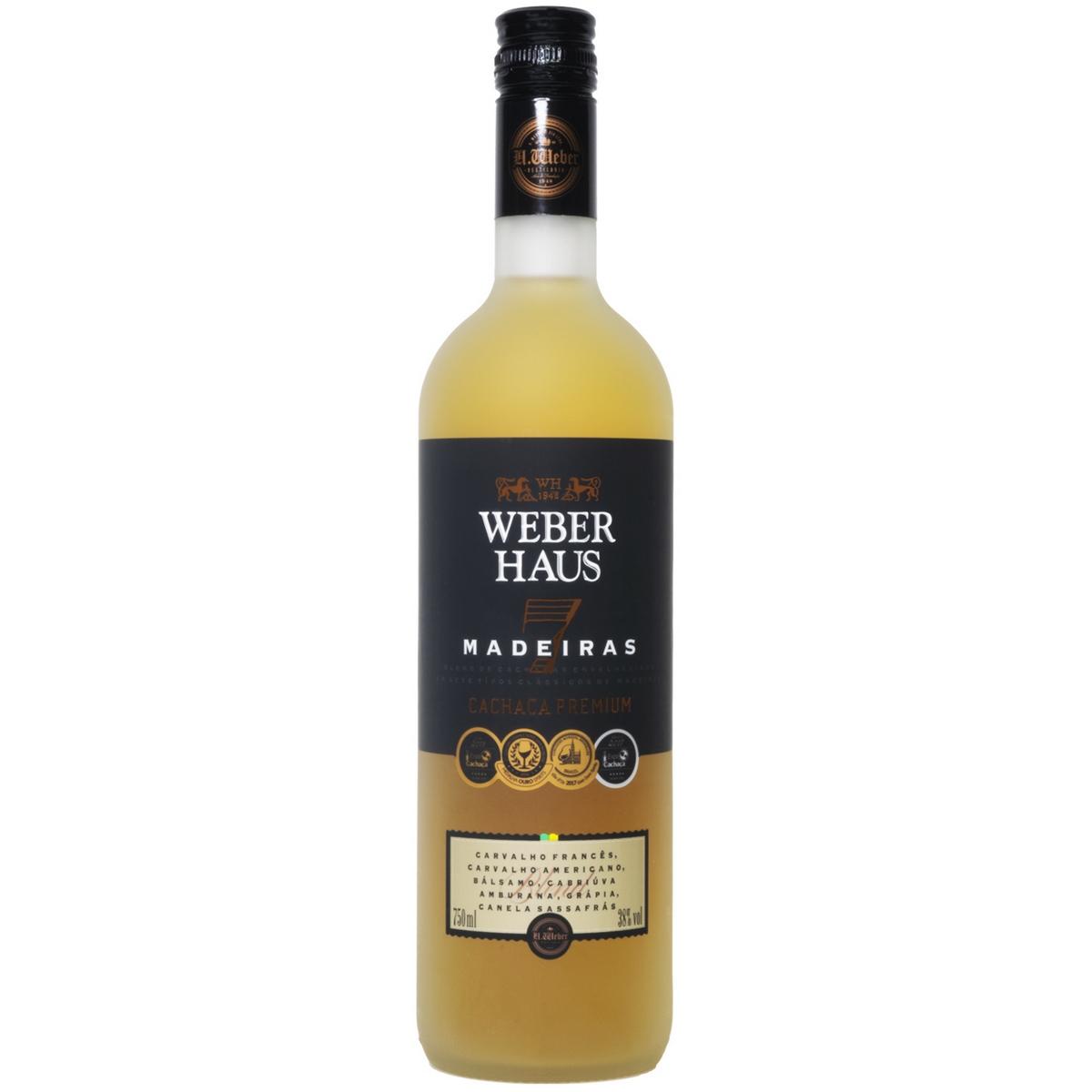 Cachaça Weber Haus Premium 7 Madeiras 750ml
