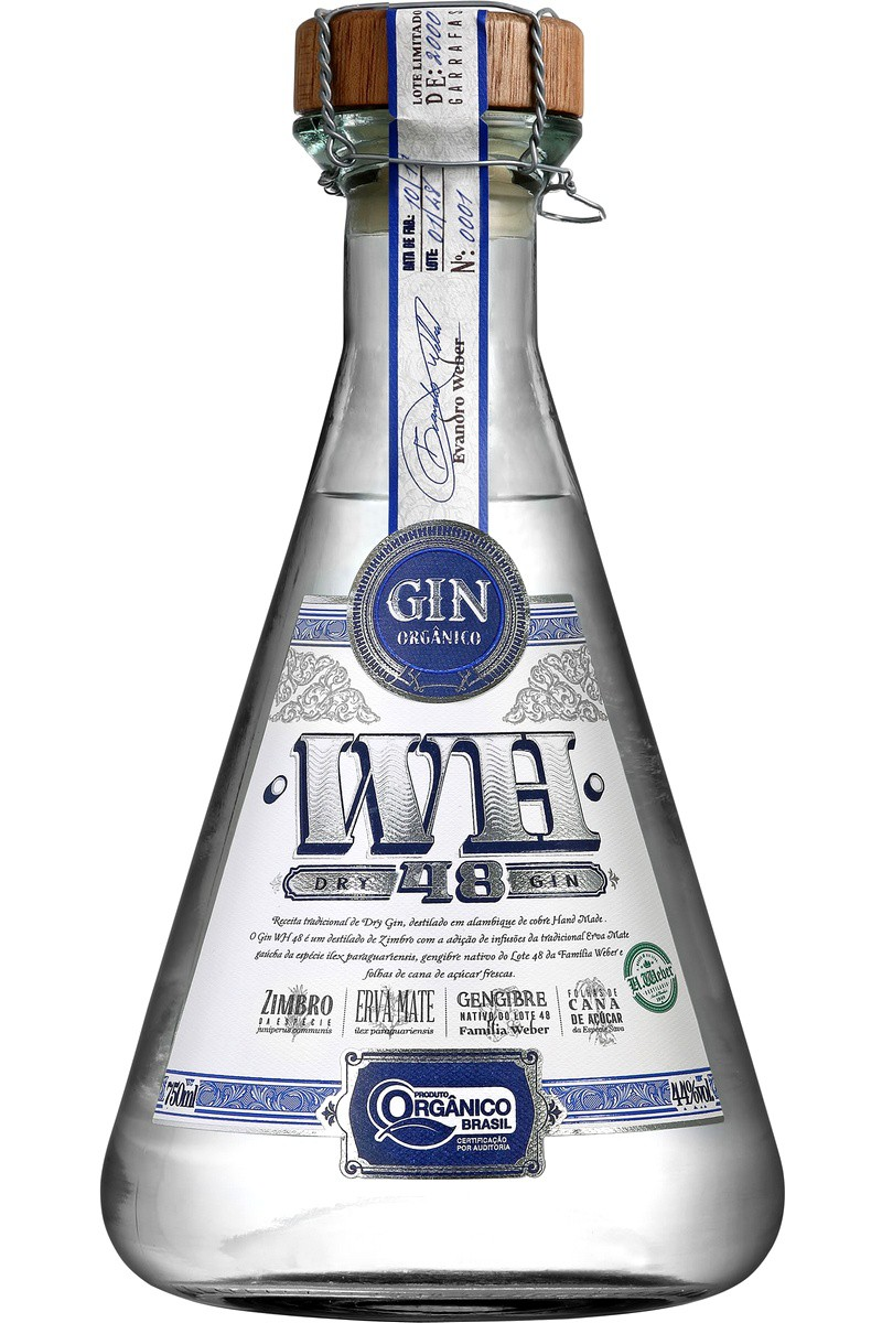 Dry Gin Weber Haus Orgânico 750ml