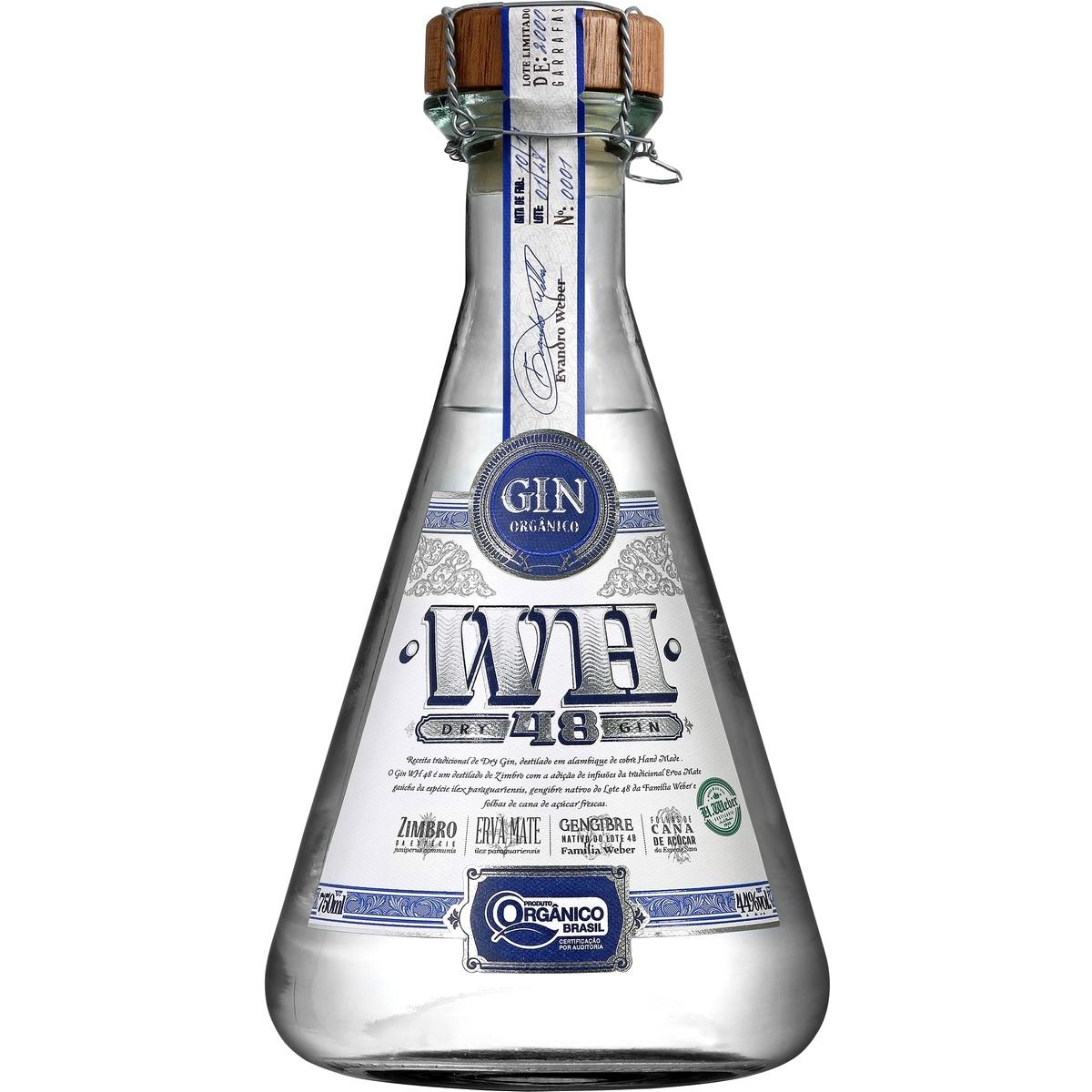 Dry Gin Weber Haus Orgânico 750ml