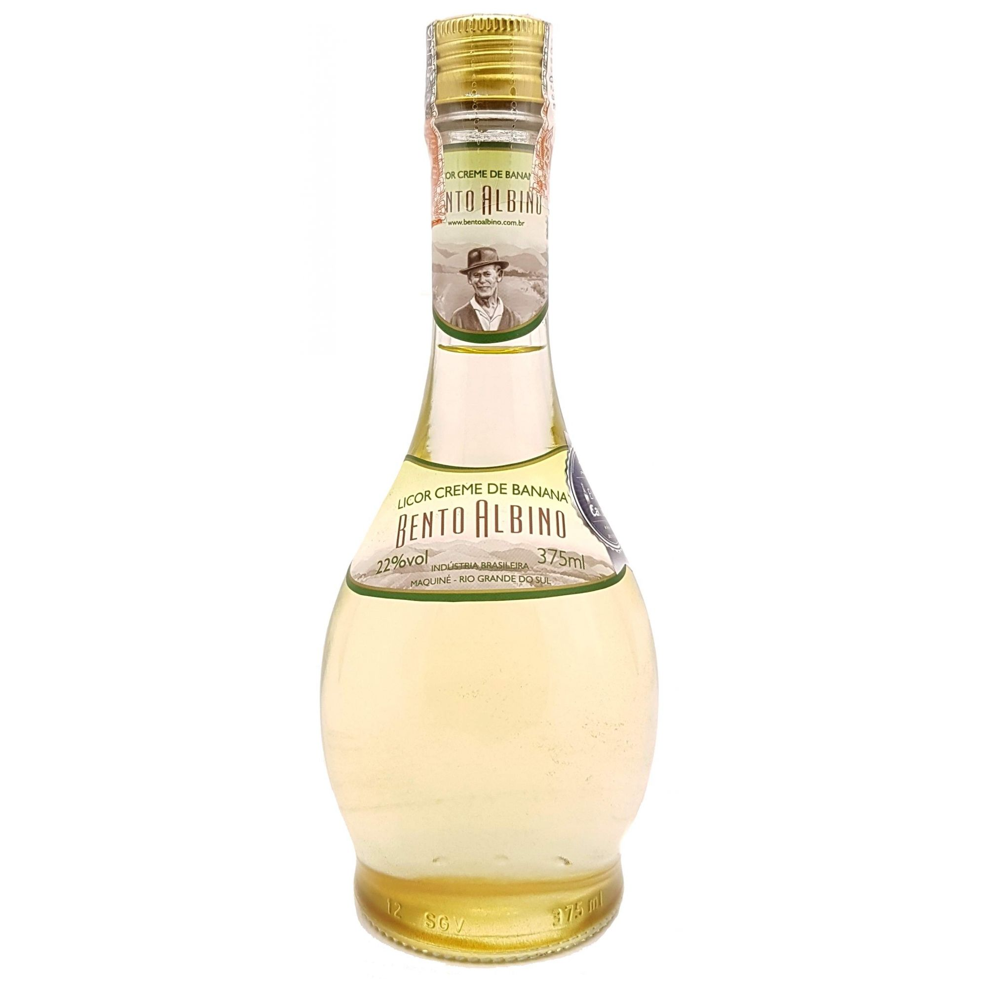 Licor Bento Albino Creme de Banana 375ml