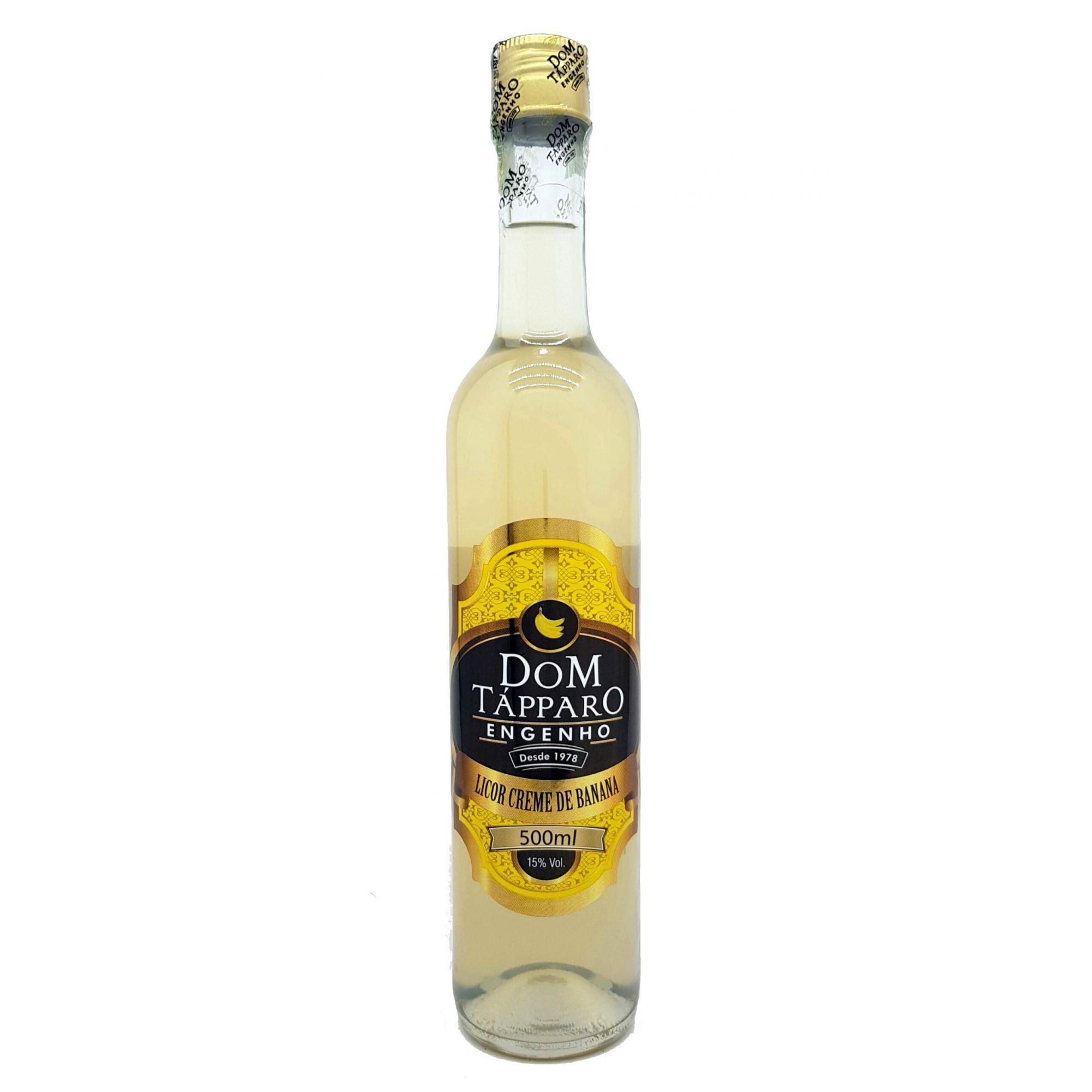 Licor Creme de Banana Dom Tápparo 500ml