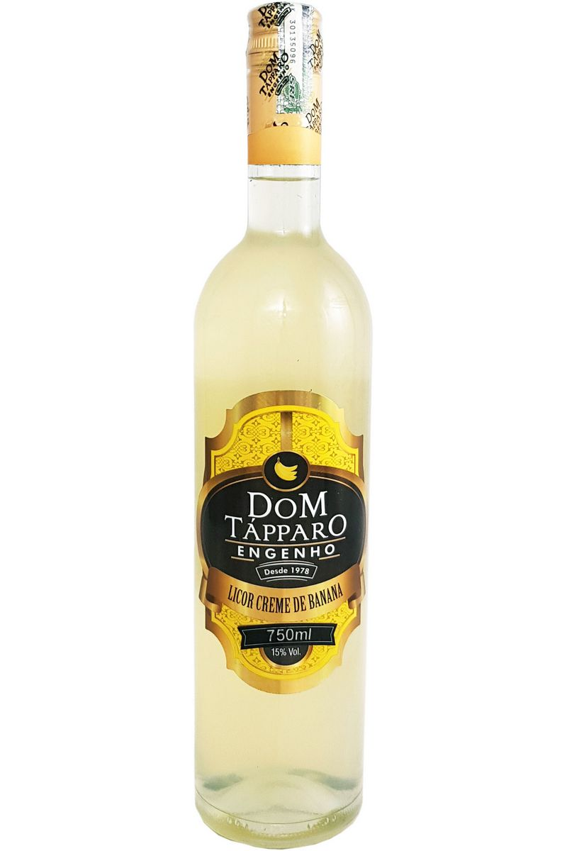 Licor Creme de Banana Dom Tápparo 750ml