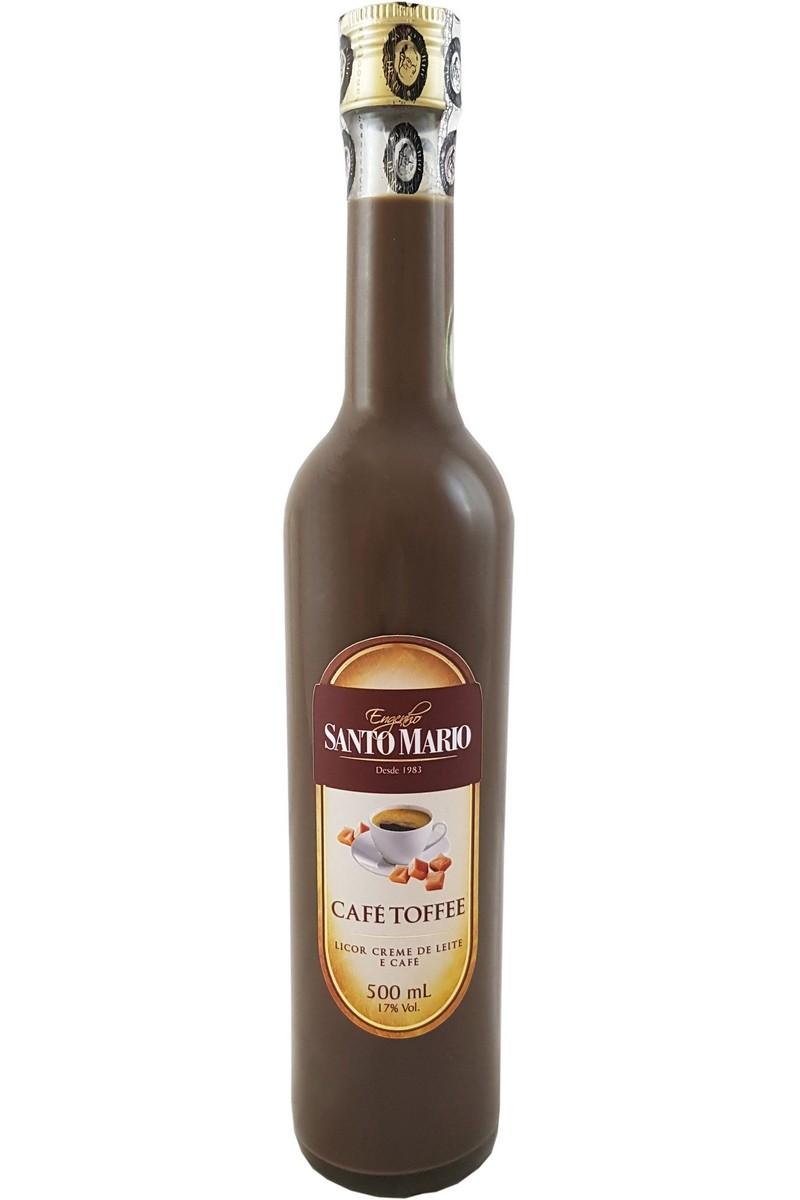Licor Creme de Café Toffee Santo Mario 500ml