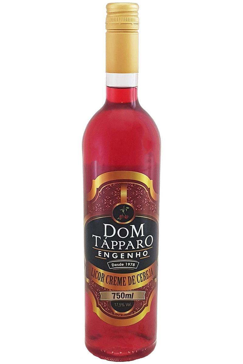 Licor Creme de Cereja Dom Tápparo 750ml
