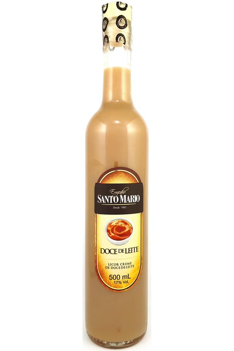 Licor Creme de Doce de Leite Santo Mario 500ml