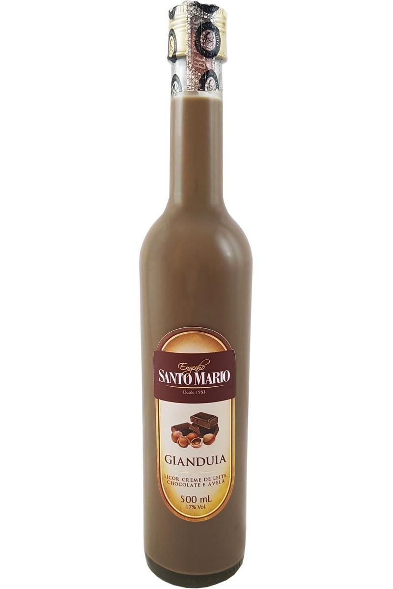 Licor Creme de Gianduia Santo Mario 500ml