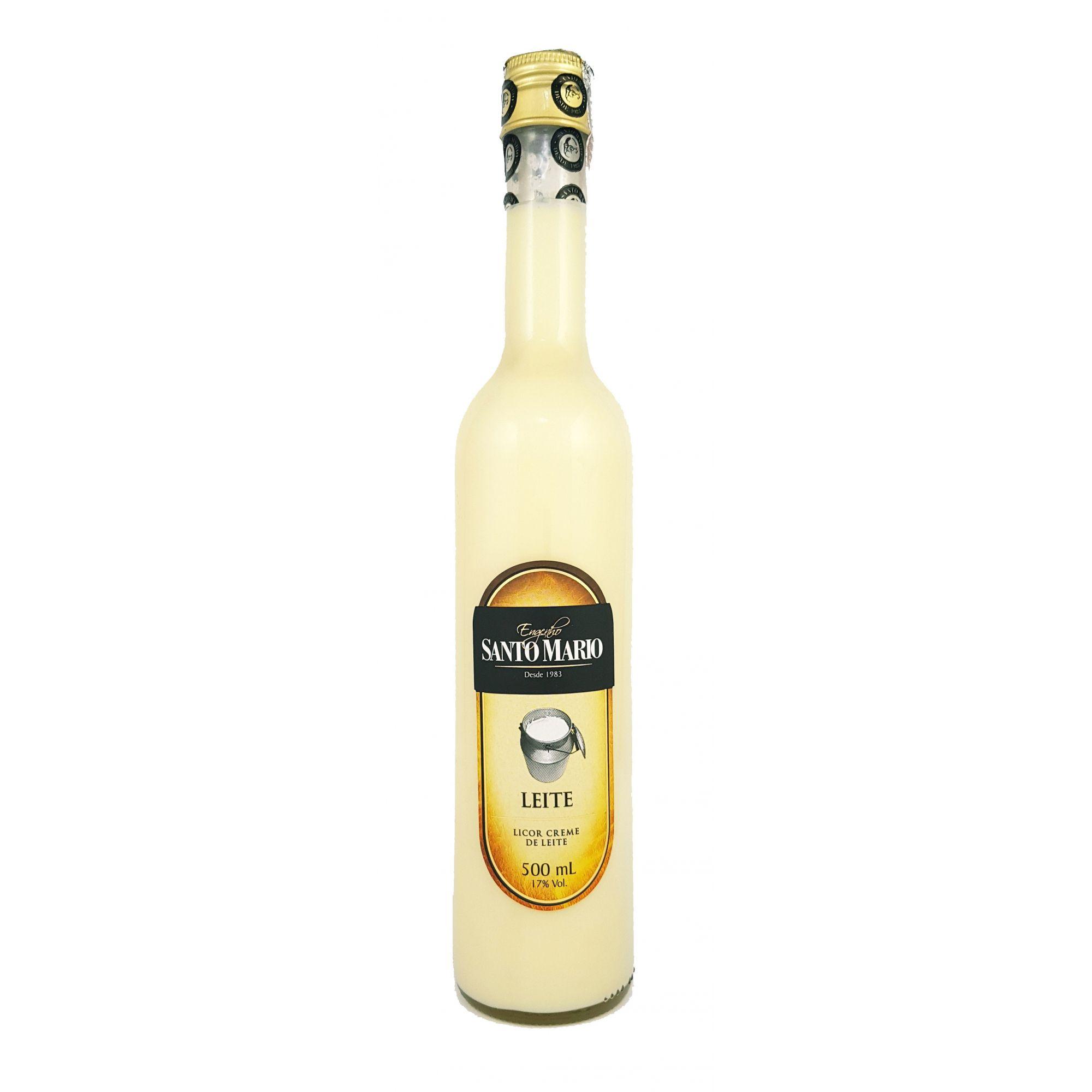 Licor Creme de Leite Santo Mario 500ml