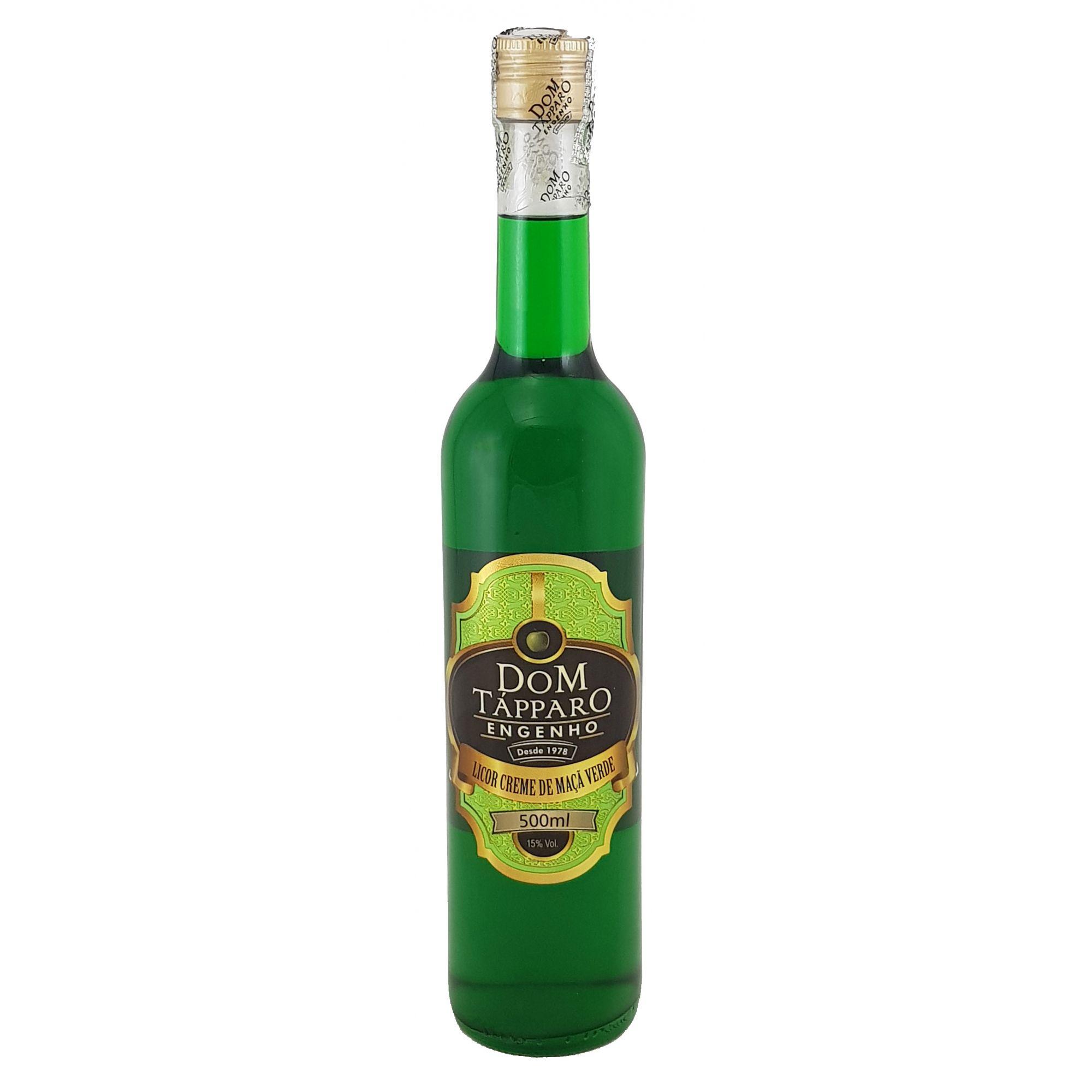 Licor Creme de Maçã Verde Dom Tápparo 500ml