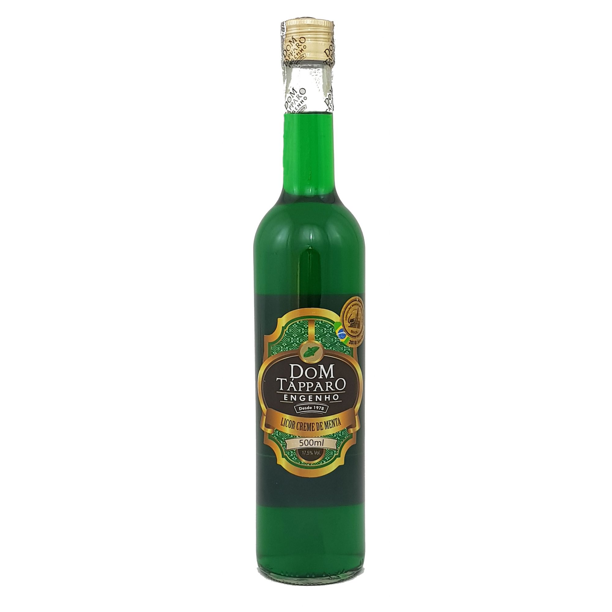 Licor Creme de Menta Dom Tápparo 500ml
