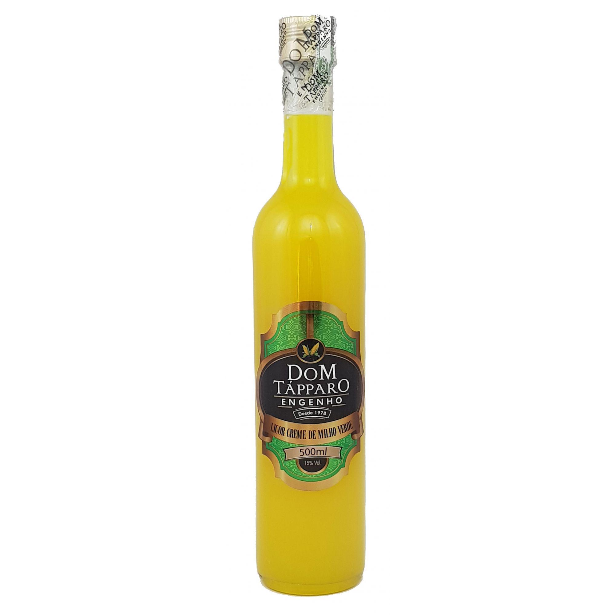 Licor Creme de Milho Verde Dom Tápparo 500ml