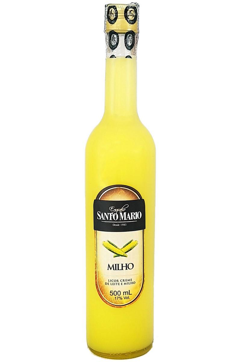 Licor Creme de Milho Verde Santo Mario 500ml