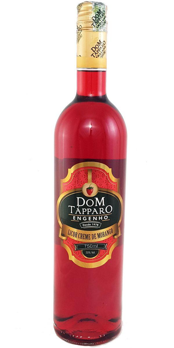 Licor Creme de Morango Dom Tápparo 750ml