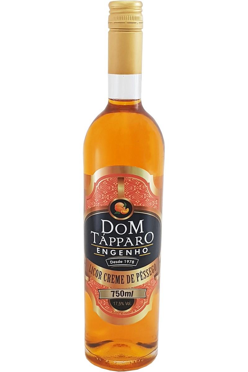 Licor Creme de Pêssego Dom Tápparo 750ml