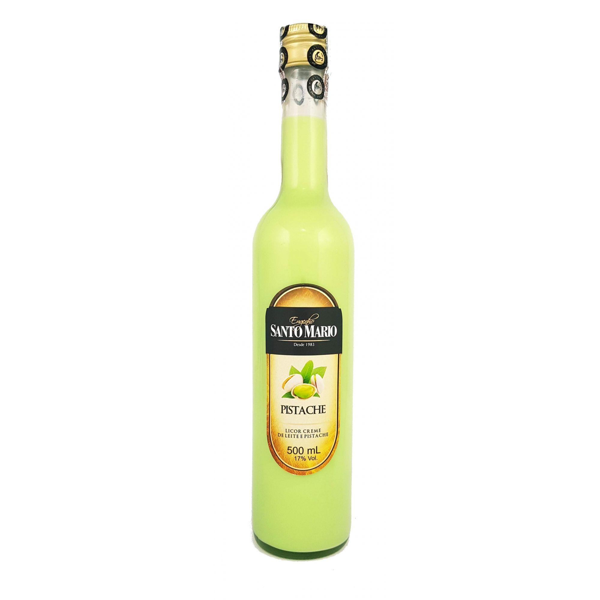 Licor Creme de Pistache Santo Mario 500ml
