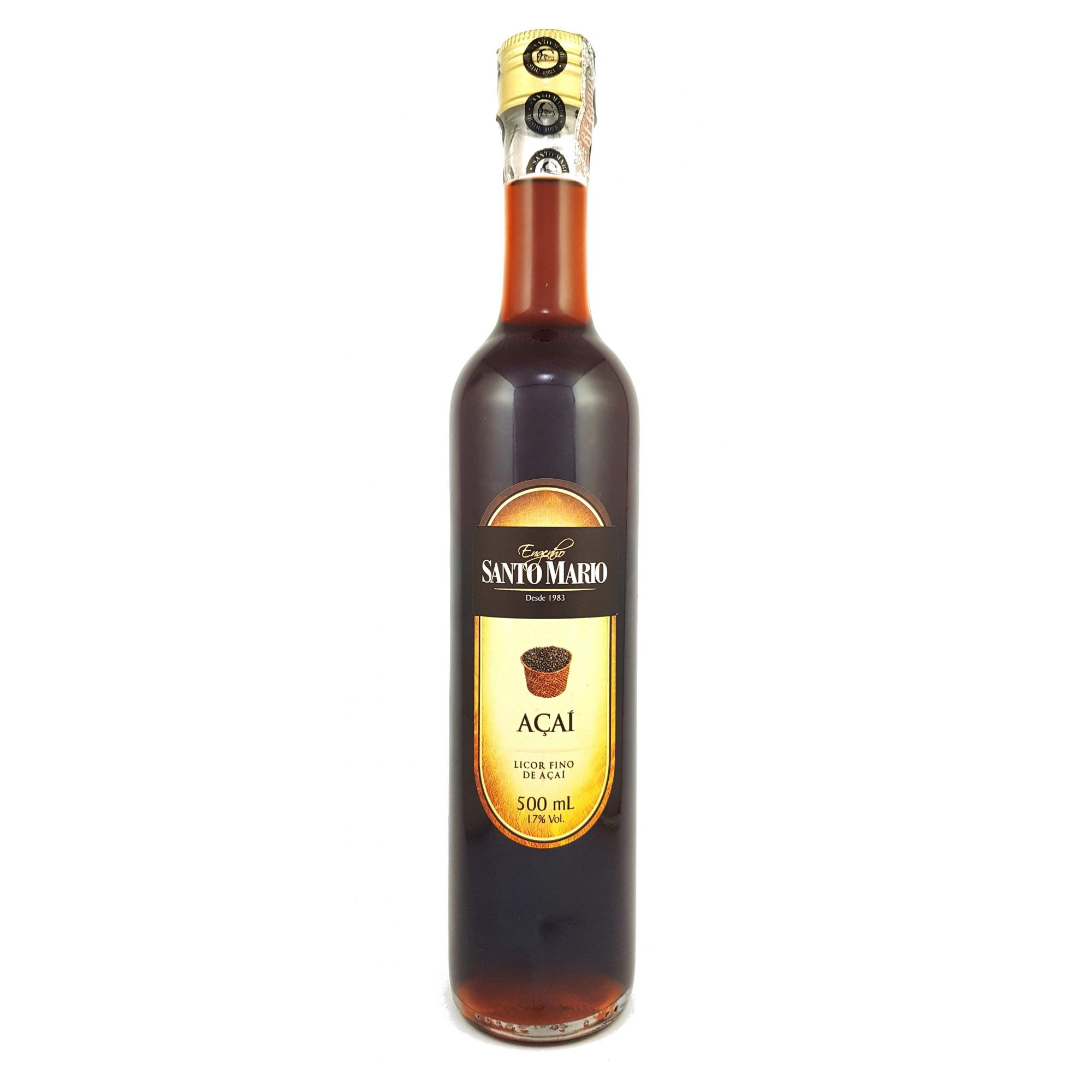 Licor Fino de Açaí Santo Mario 500ml