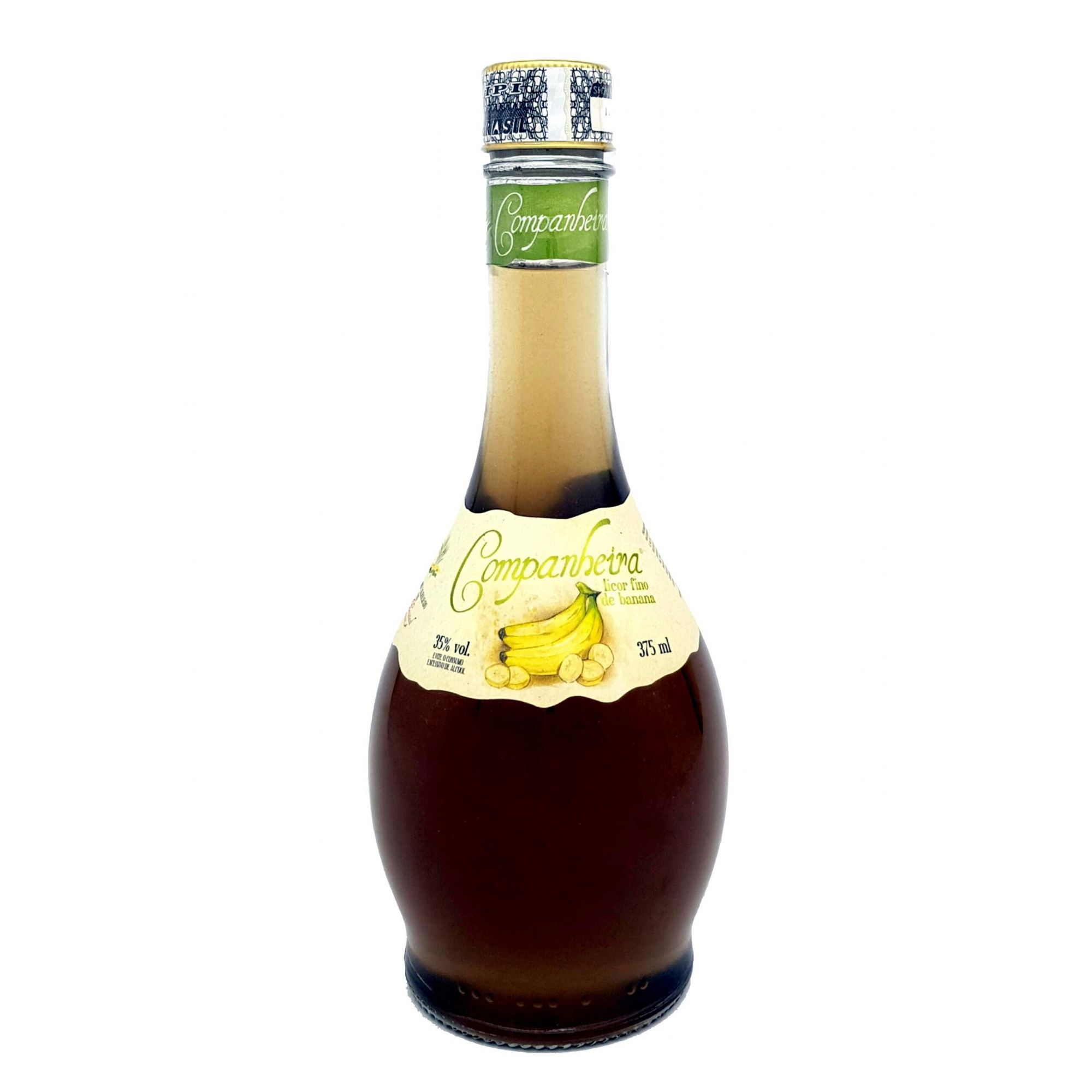 Licor Fino de Banana Companheira 375ml