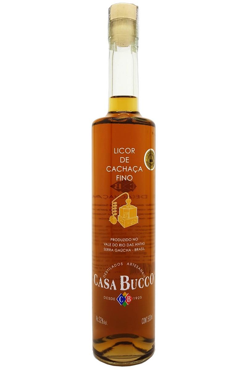 Licor Fino de Cachaça Casa Bucco 500ml