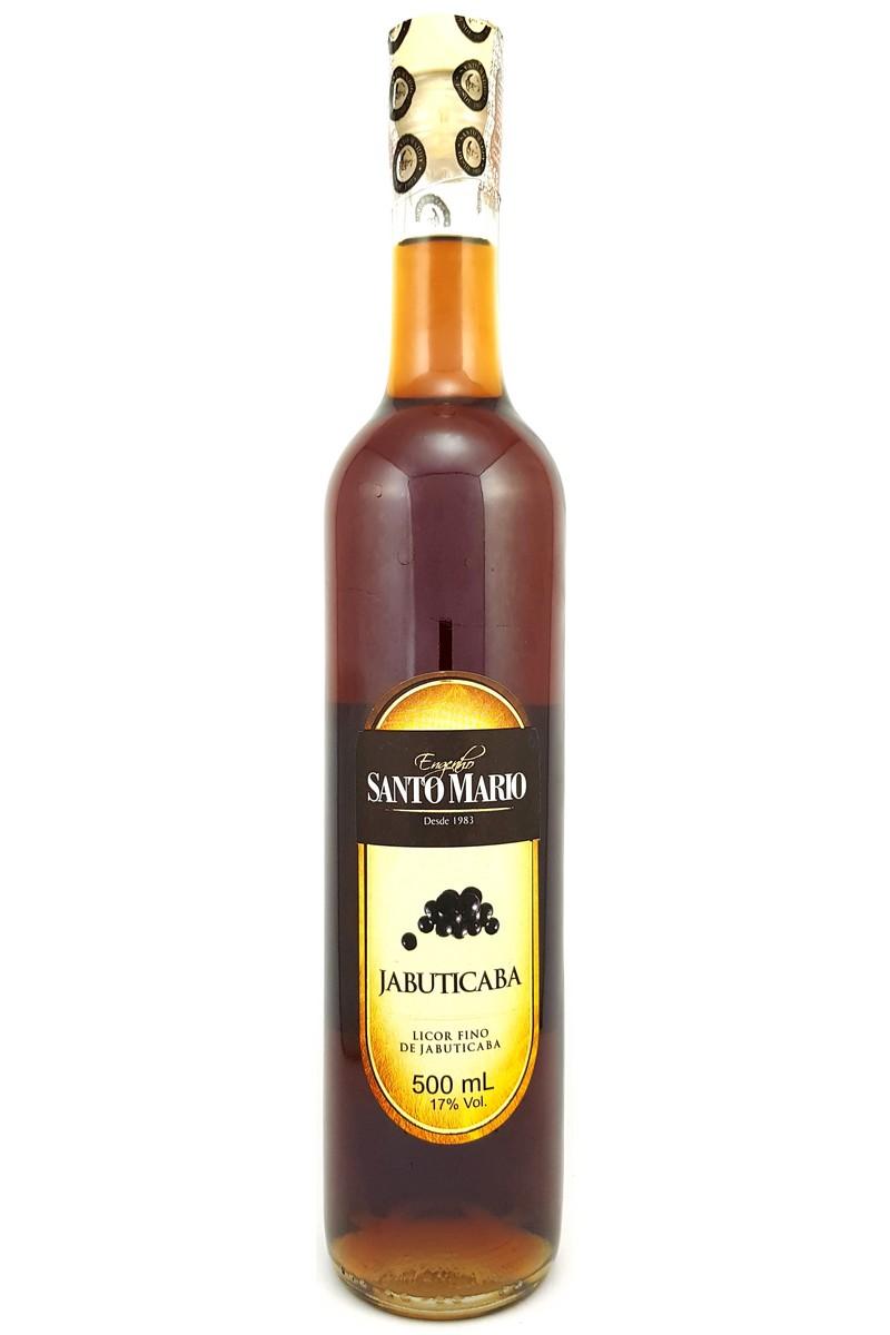 Licor Fino de Jabuticaba Santo Mario 500ml