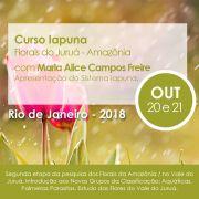 Curso PRESENCIAL Florais IAPUNA – Florais da Amazônia – Flores do Juruá Com Maria Alice Campos Freire