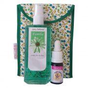 Kit Família  - Spray Ambiental + Floral Integração Familiar + Bolsinha