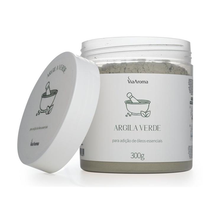 Argila Verde - 300g  - Floressência