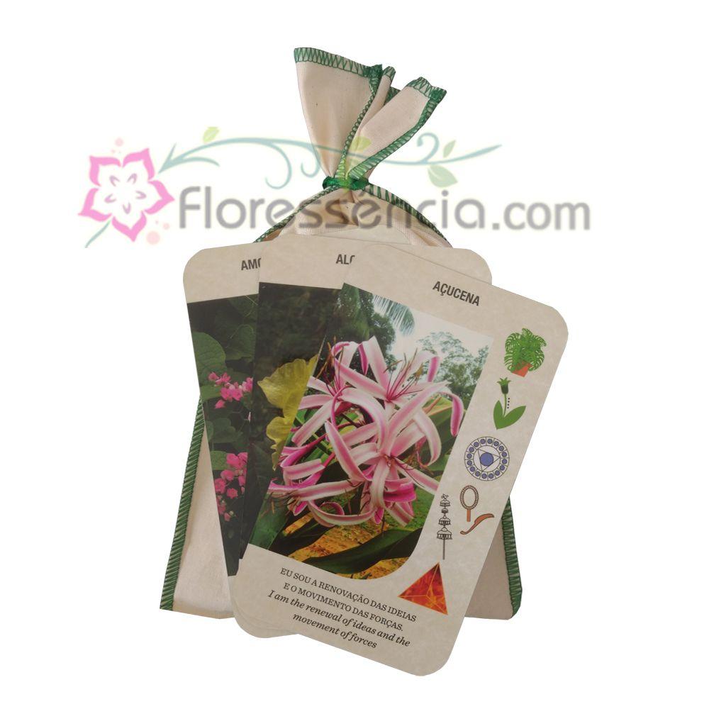 Baralho de Cartas das Flores - Florais da Amazônia  - Floressência