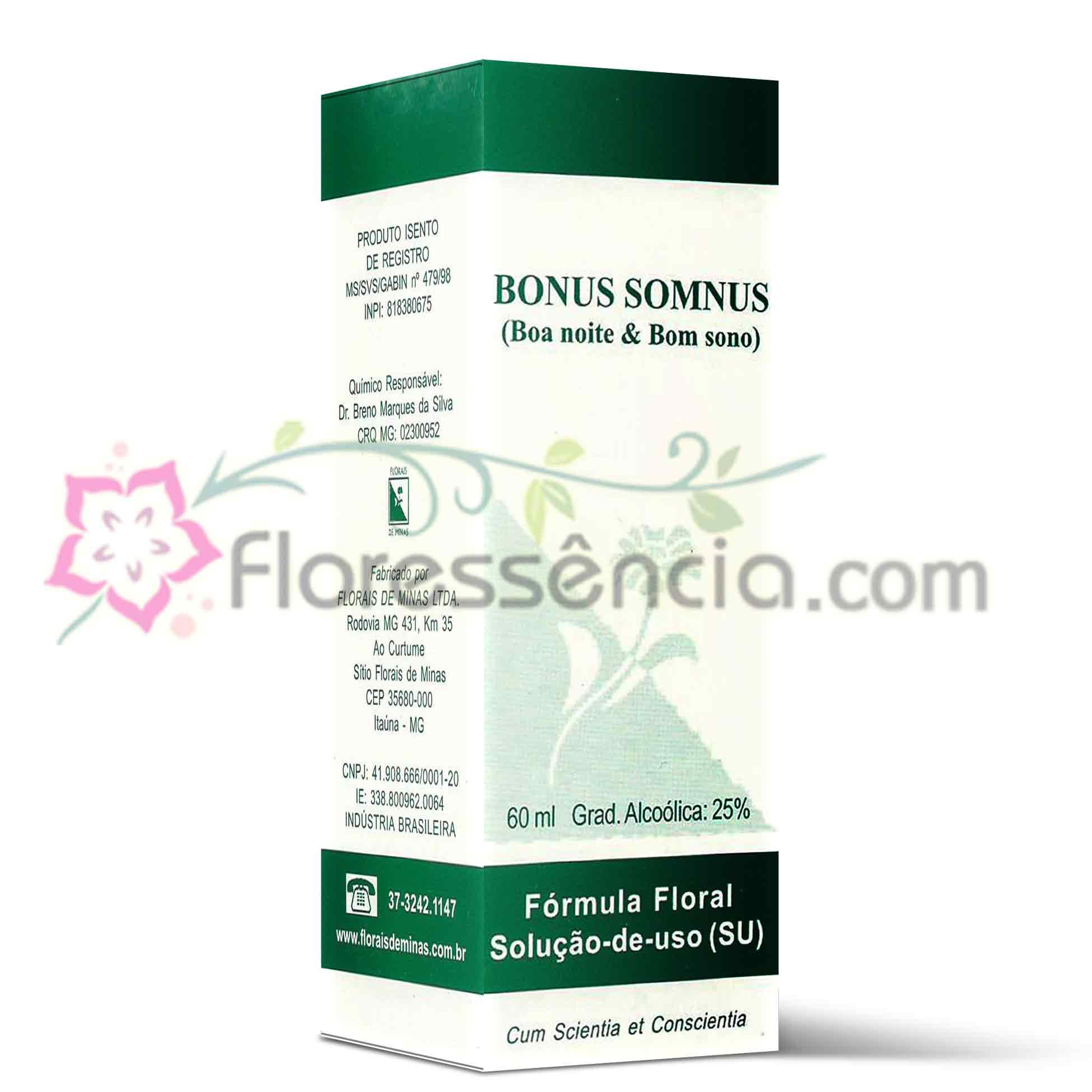 Bonus Somnus - 60 ml  - Floressência