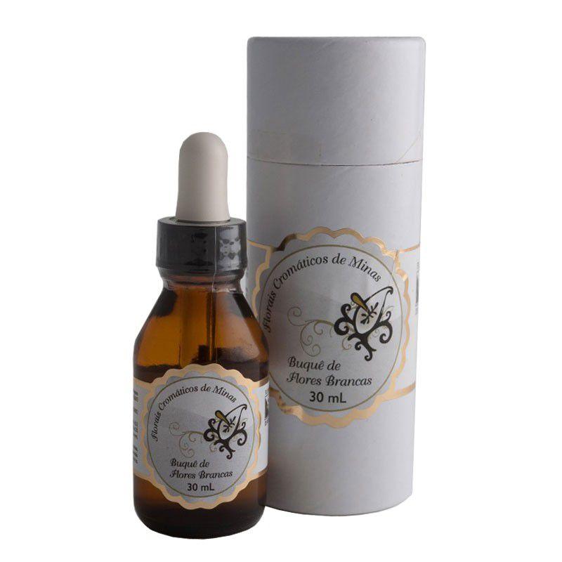 Buquê de Flores Brancas - 30 ml  - Floressência