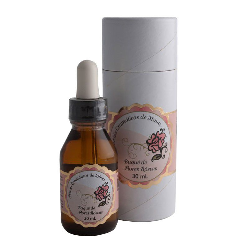 Buquê de Flores Róseas - 30 ml  - Floressência