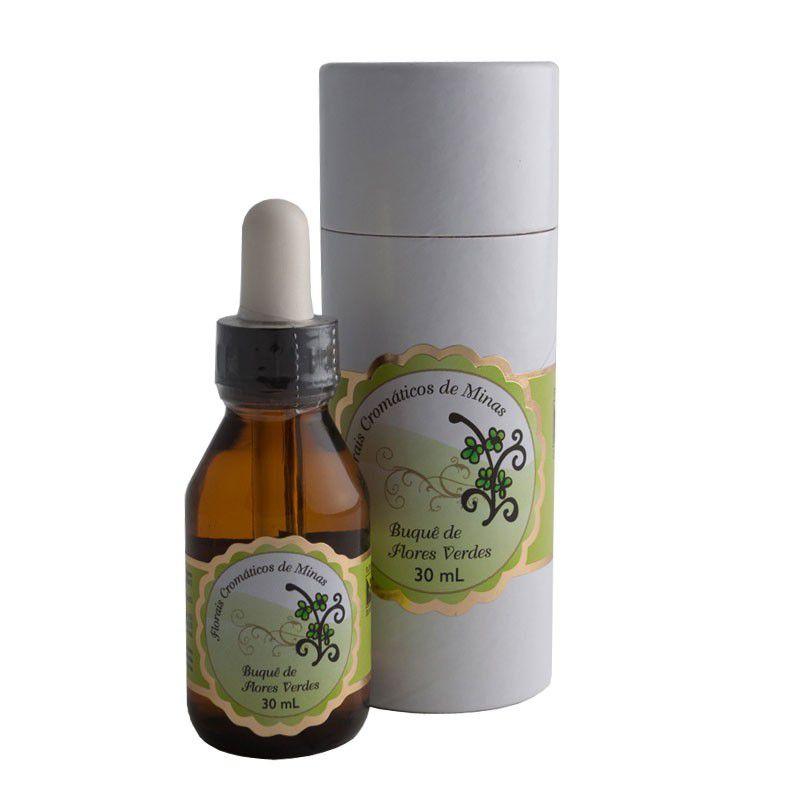Buquê de Flores Verdes - 30 ml  - Floressência