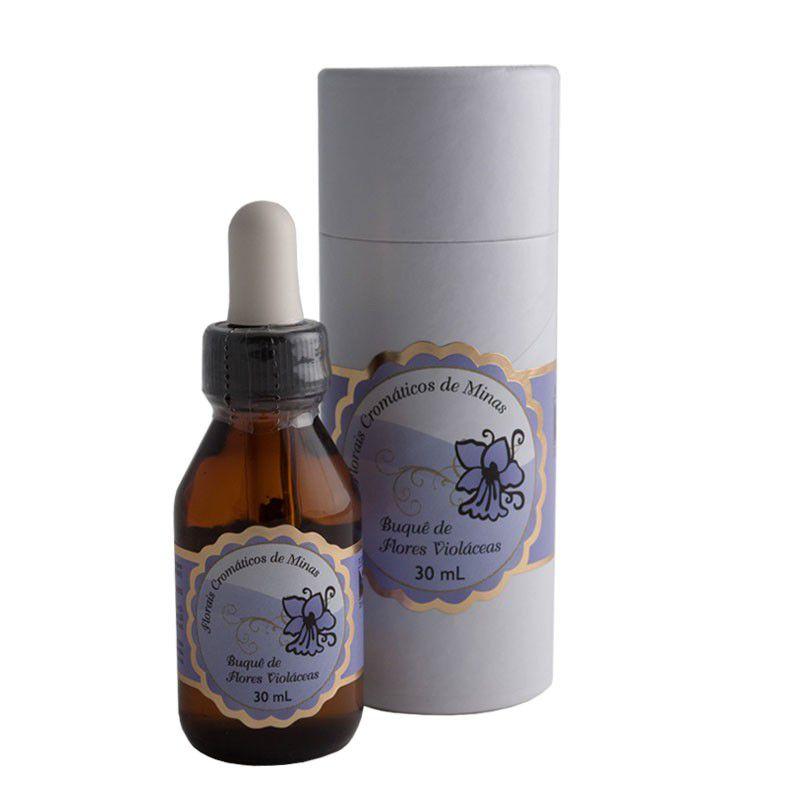 Buquê de Flores Violáceas - 30 ml  - Floressência