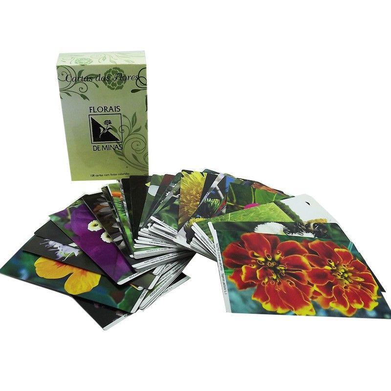 Coleção de Cartas - Florais de Minas - 108 cartas  - Floressência