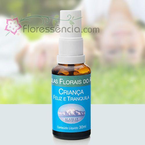 Criança Feliz e Tranquila - 30 ml  - Floressência