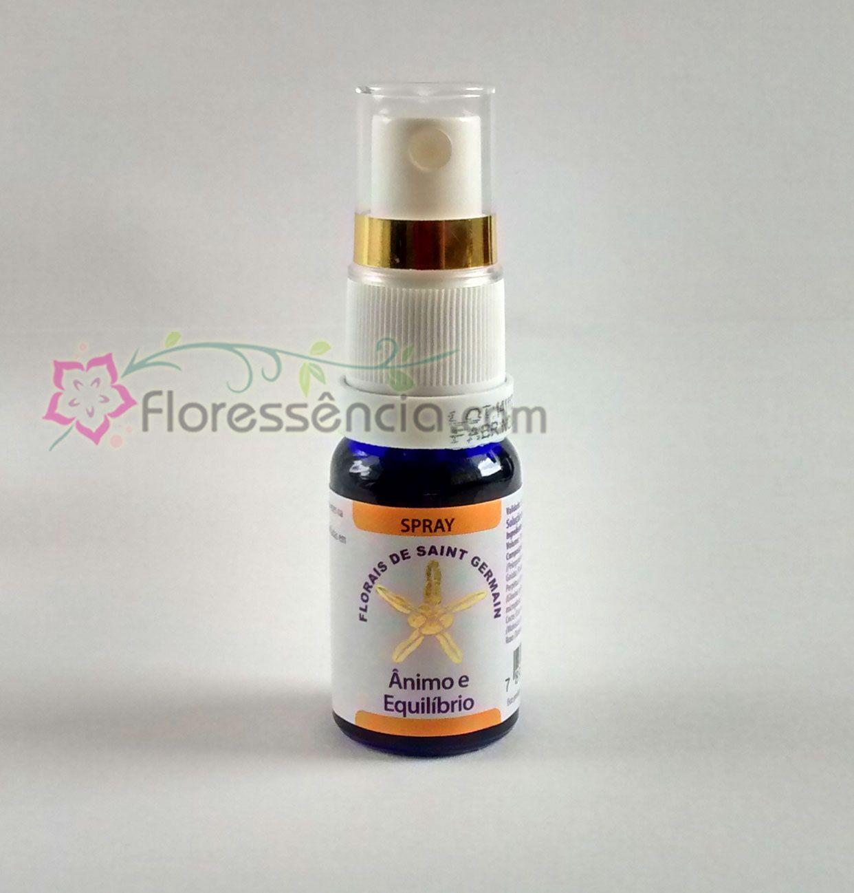 Fórmula Ânimo e Equilíbrio Spray uso oral - 10 ml  - Floressência