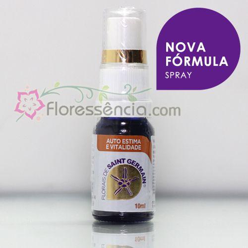 Fórmula Auto Estima e Vitalidade Spray uso oral - 10 ml  - Floressência