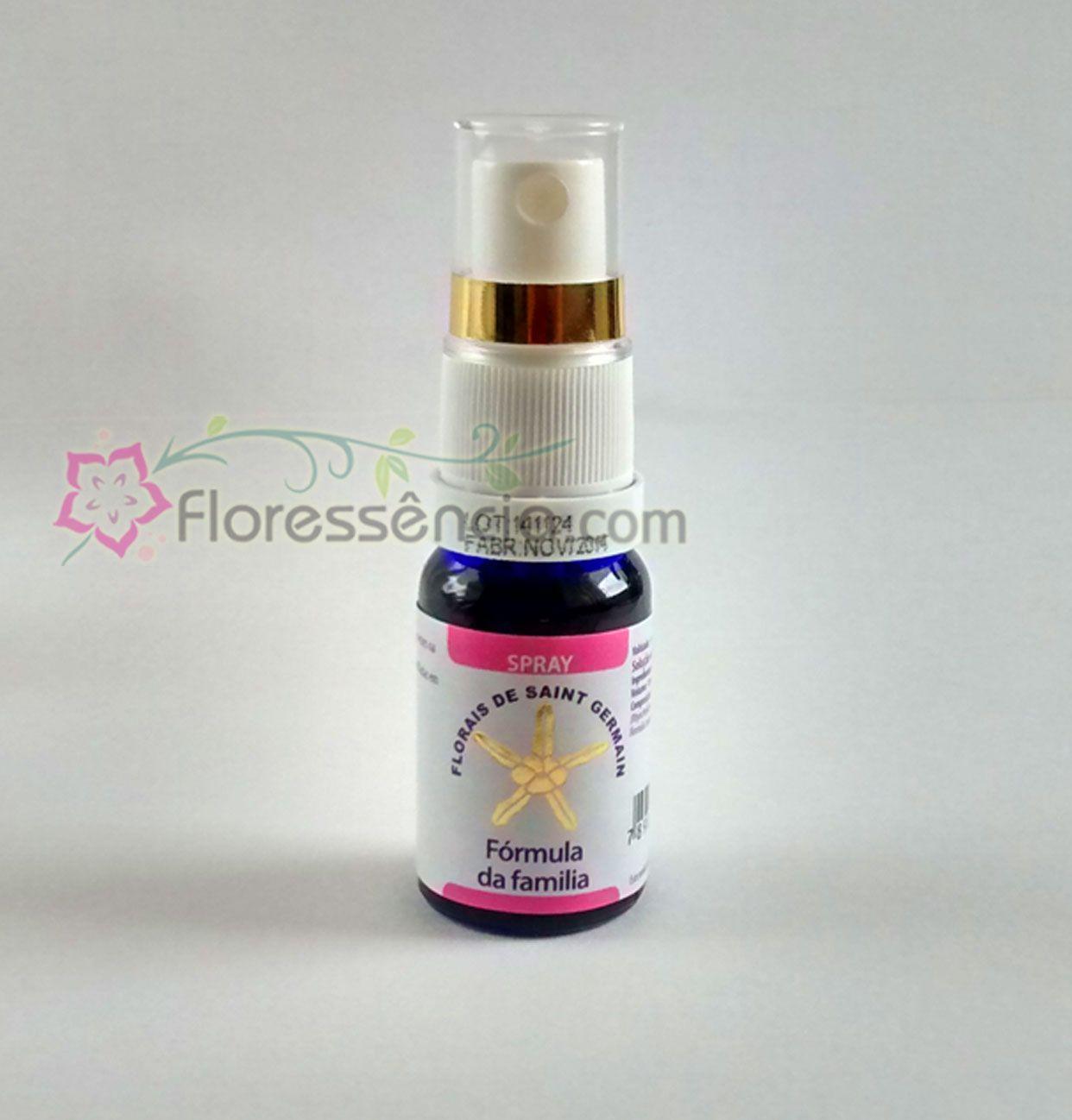Fórmula da Família Spray uso oral  - 10 ml  - Floressência