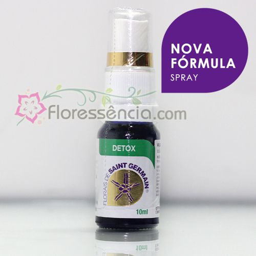 Fórmula DETOX Spray uso oral - 10 ml  - Floressência