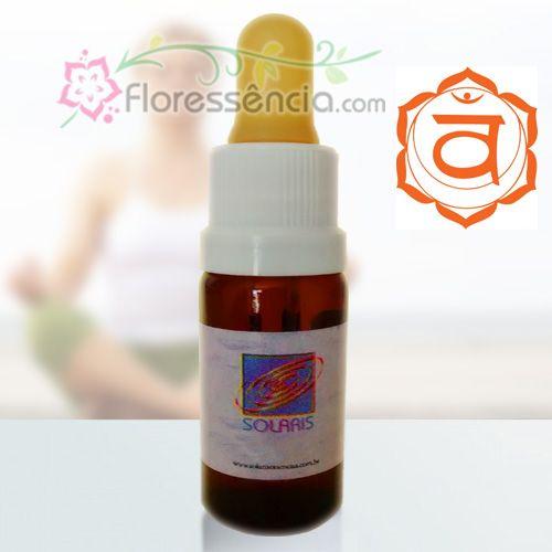 Fórmula do 2º Chakra - 10 ml  - Floressência