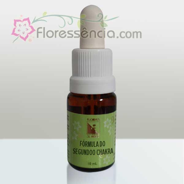 Fórmula do Segundo Chacra - 10 ml  - Floressência