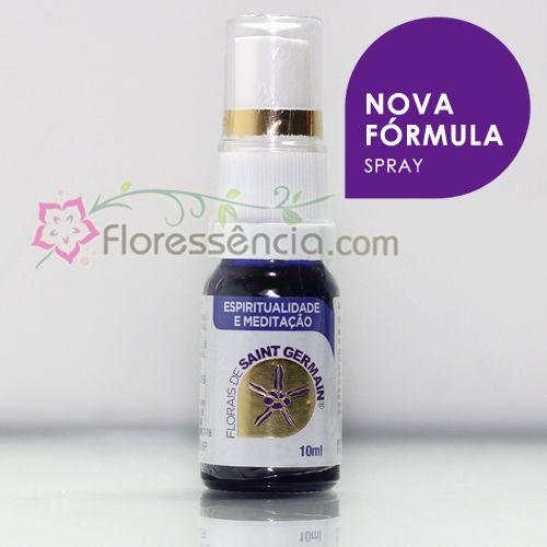 Fórmula Espiritualidade e Meditação Spray uso oral - 10 ml  - Floressência