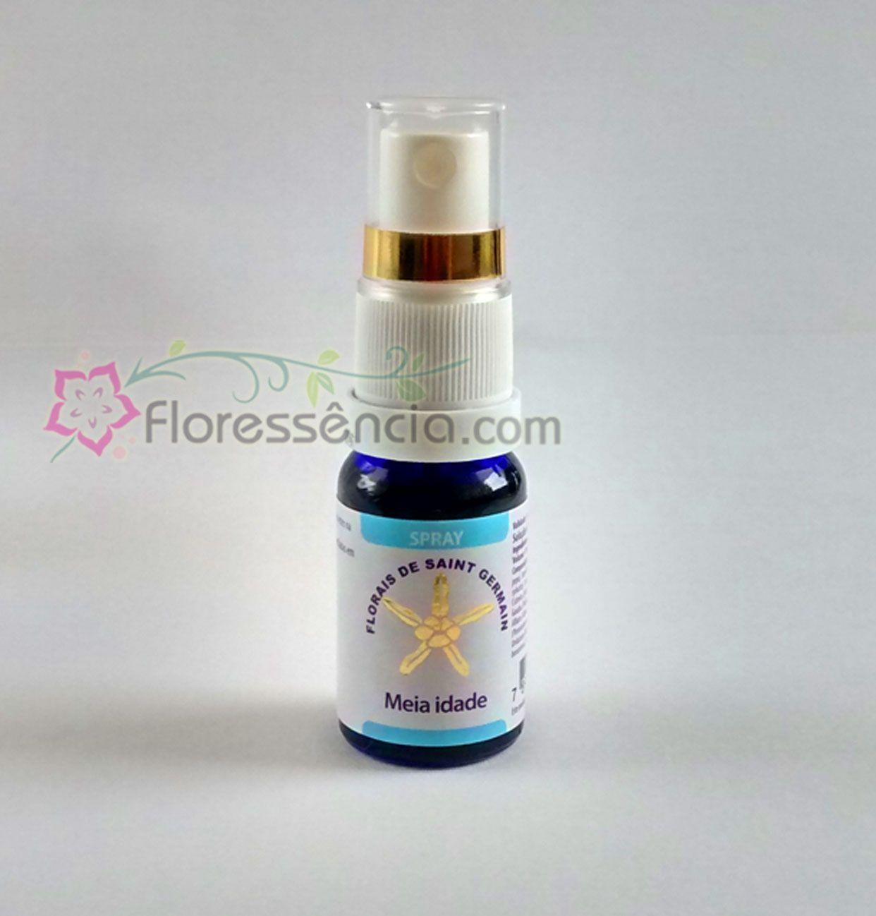Fórmula Meia Idade Spray uso oral - 10 ml  - Floressência