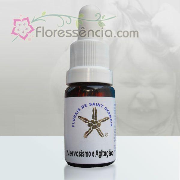 Fórmula Nervosismo e Agitação - 10 ml  - Floressência