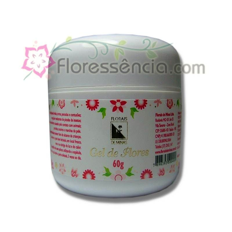 Gel de Flores - 60g  - Floressência