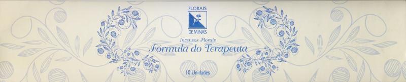 Incenso Floral Fórmula do Terapeuta - 10 varetas  - Floressência
