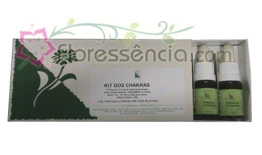 Kit dos Chacras - 07 Fórmulas  - Floressência