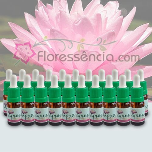 Kit Florais Iapuna - 21 Frascos - 10 ml  - Floressência