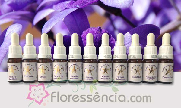 Kit Fórmulas Compostas FSG - 12 Frascos - 10 ml - Gotas  - Floressência