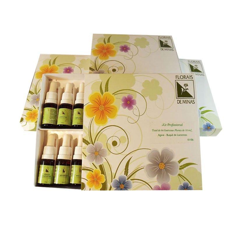 Kit Profissional - 84 Essências  - Floressência