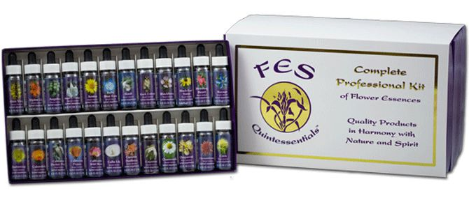 Kit Profissional Florais da Califórnia - 103 frascos - 7,5 ml  - Floressência